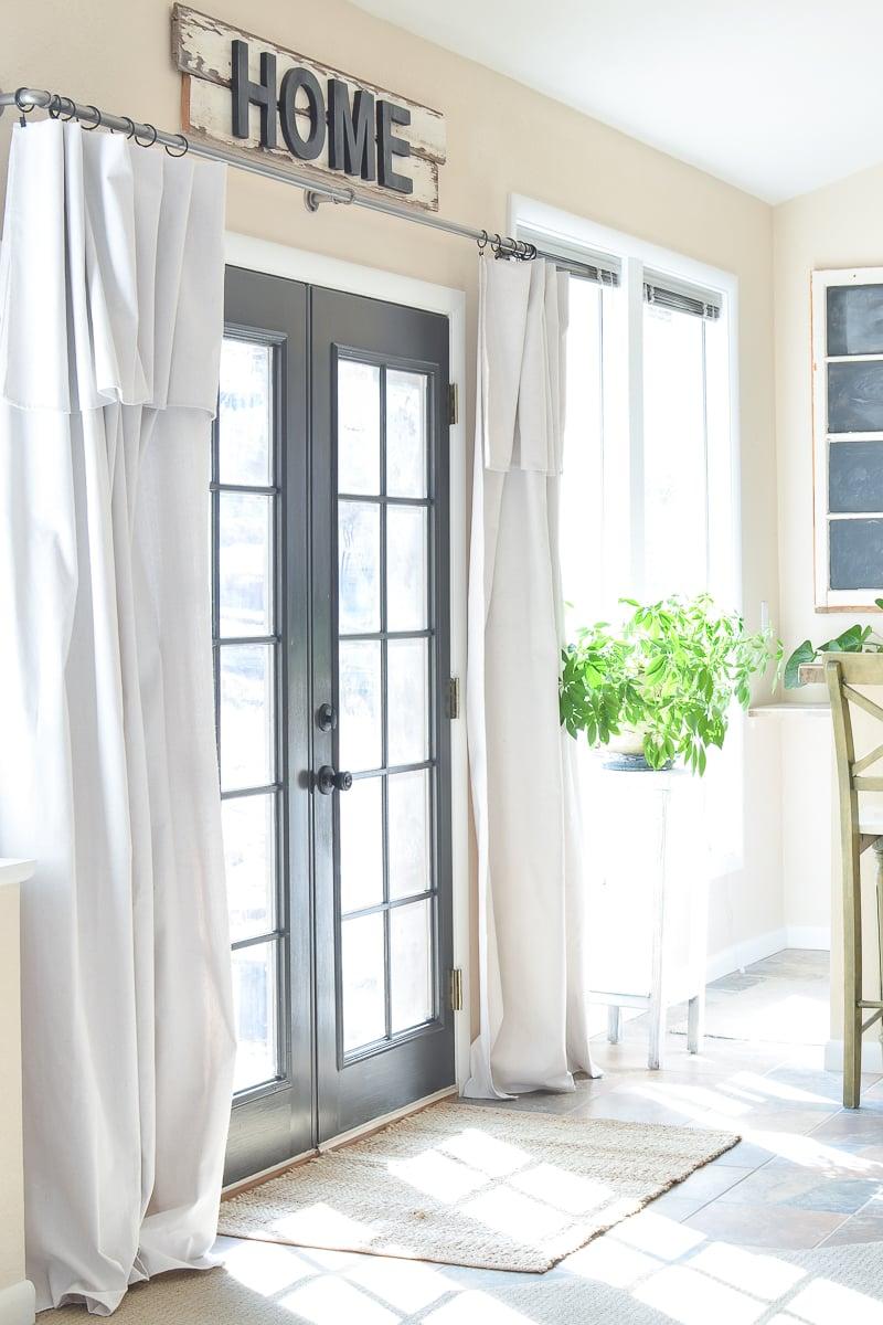 How to Paint an Interior Door Black