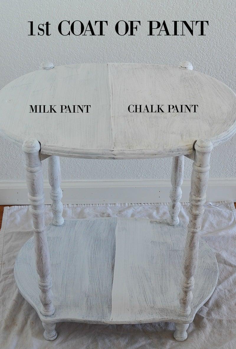 Rust-Oleum Milk Paint vs Chalk Paint