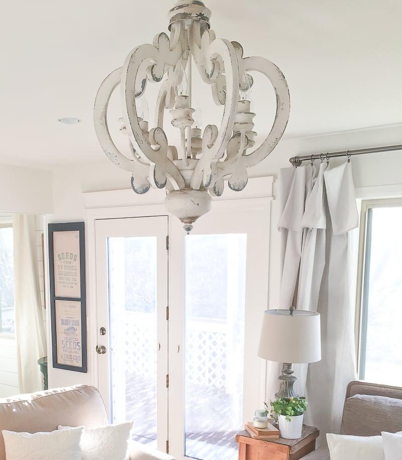 Farmhouse Style Decor New Room Light Chandeliers Sarah Joy Blog