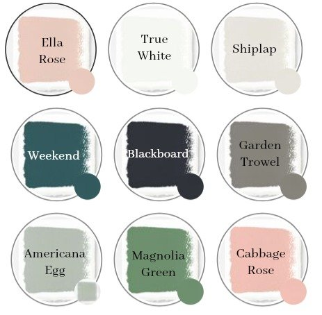 Magnolia Home Chalk Paint Colors