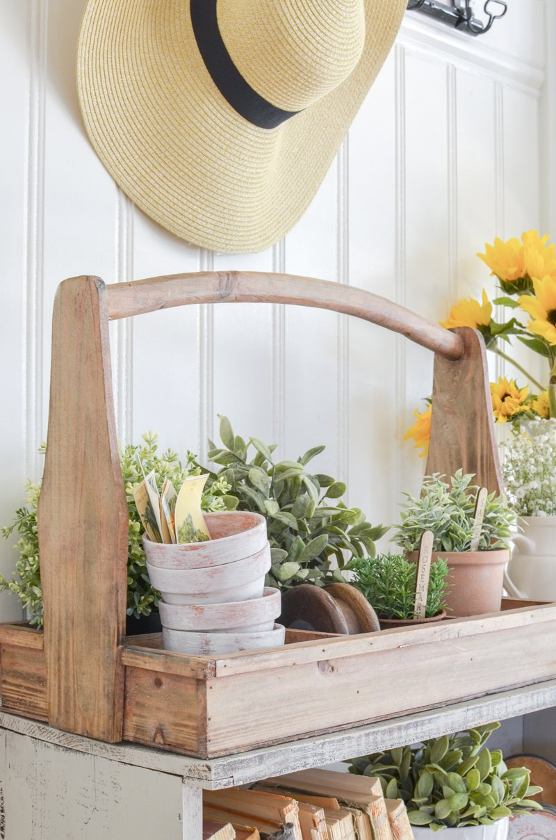 Farmhouse style entryway