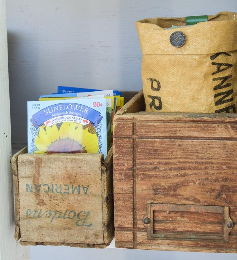 Outdoor Farmhouse Style Garden Storage Cabinet