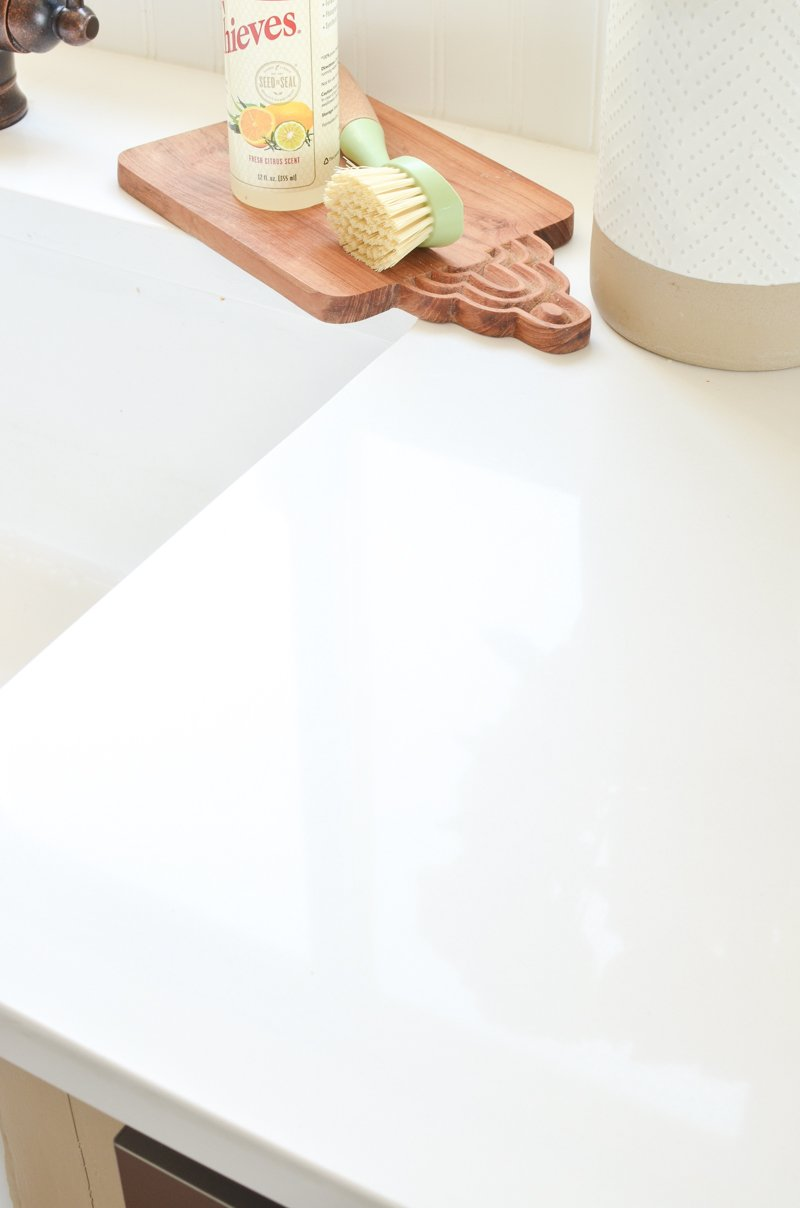 An Honest Review of Our White Quartz Countertops