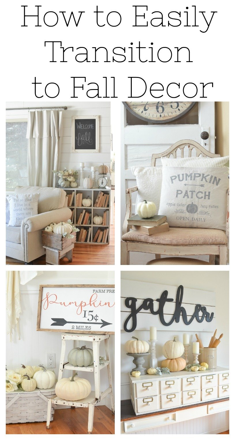 How to Easily Transition to Fall Decor