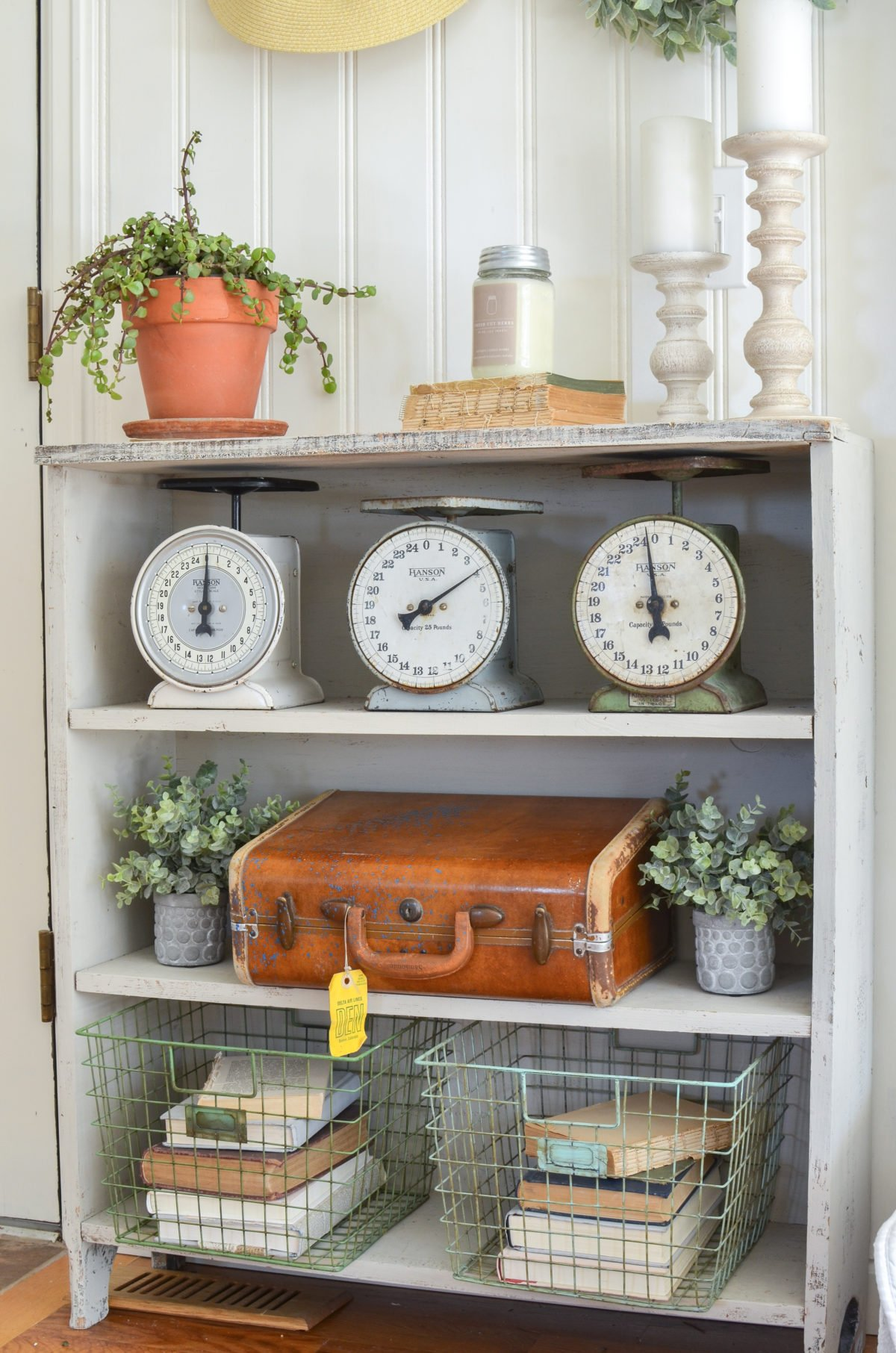 How to Style a Vintage Suitcase 5 Different Ways