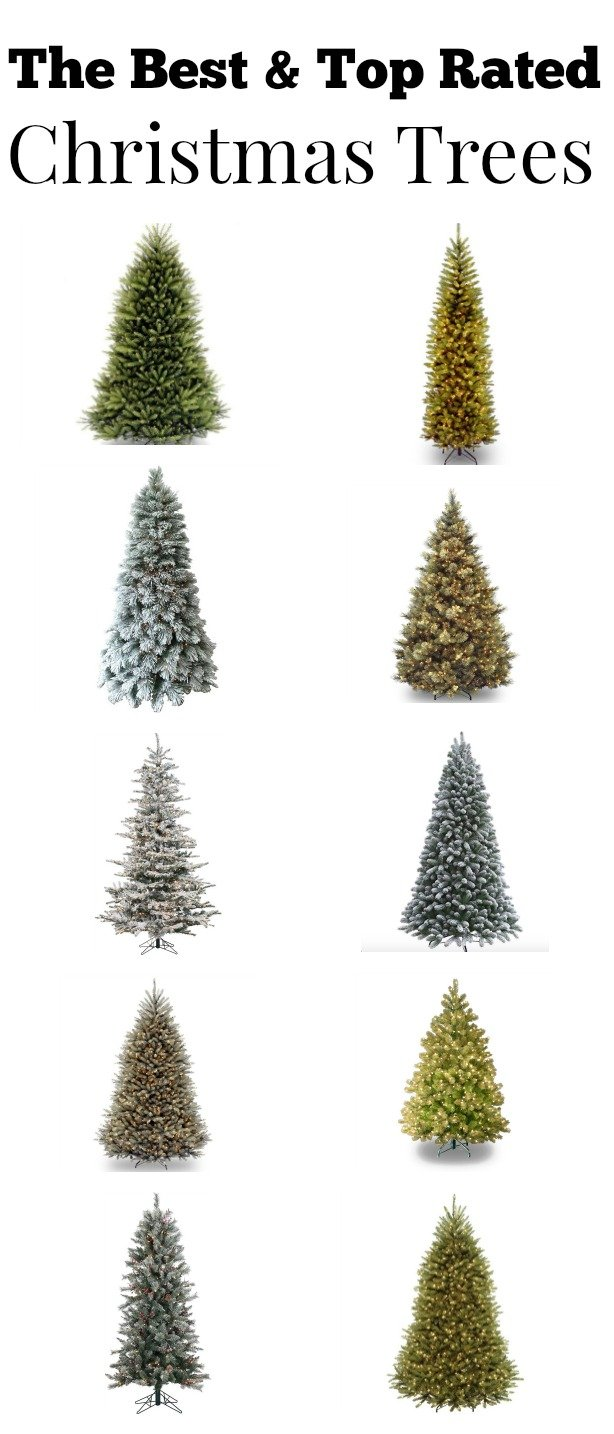 The top rated artificial Christmas trees