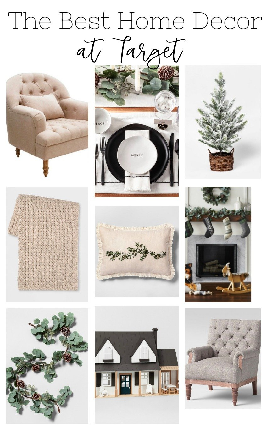 The best holiday home decor at Target.
