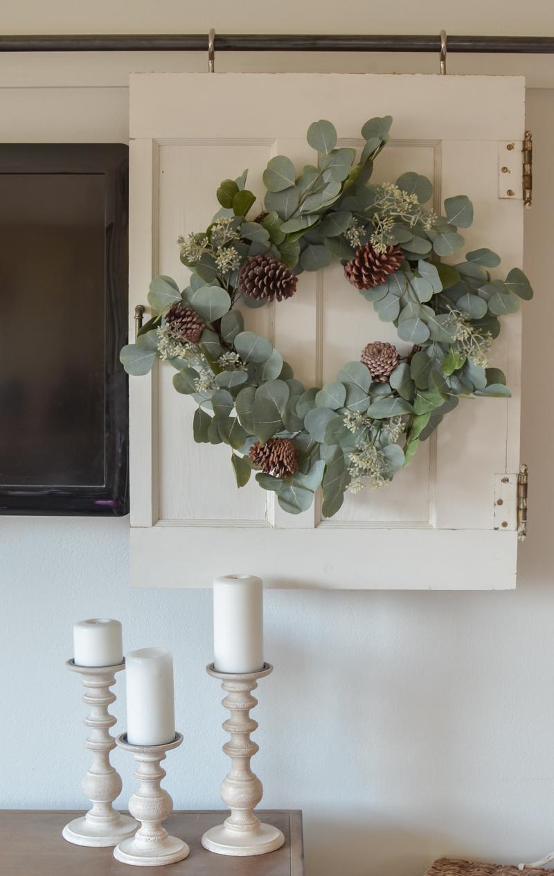 Beautiful holiday wreath
