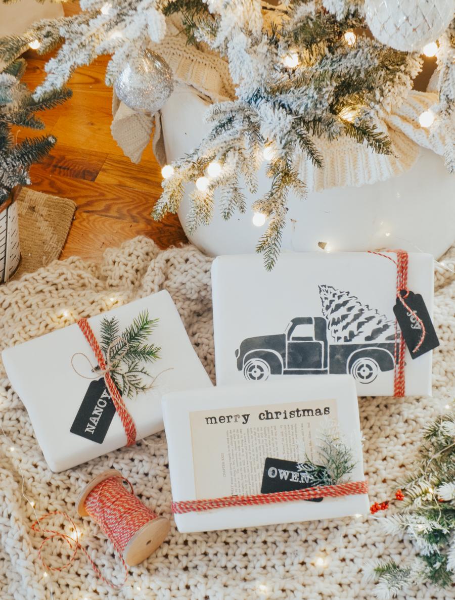 3 Easy & Beautiful Gift Wrapping Ideas - Sarah Joy Blog