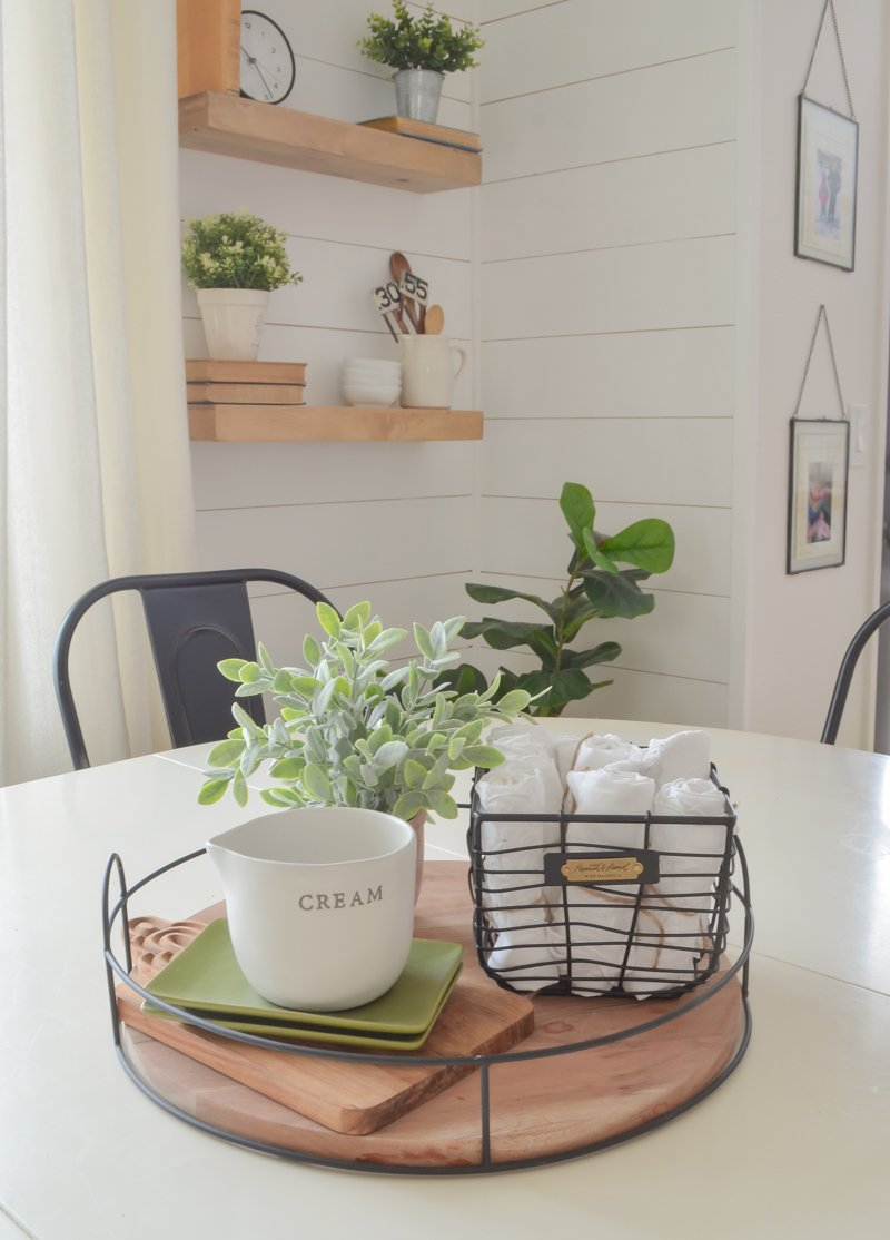 10 Ways to Style a Wooden Tray. Simple ways to style a wooden tray in any room in your home.