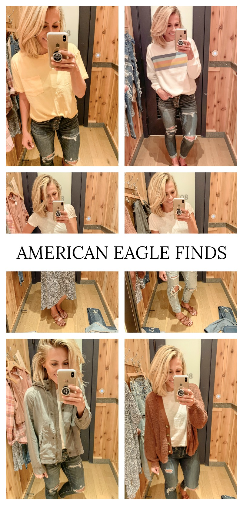 Affordable American Eagle finds. Easy outfit ideas all from American Eagle.