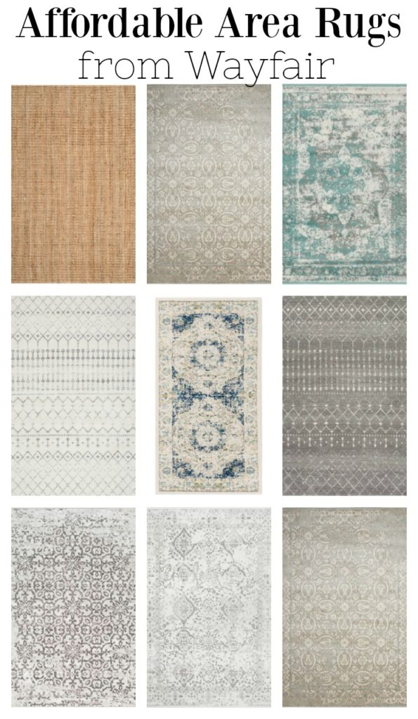 Affordable area rugs from Wayfair