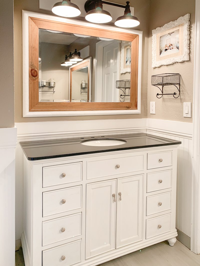 New Bathroom Vanities Help Me Pick The Faucet Mirror Sarah Joy