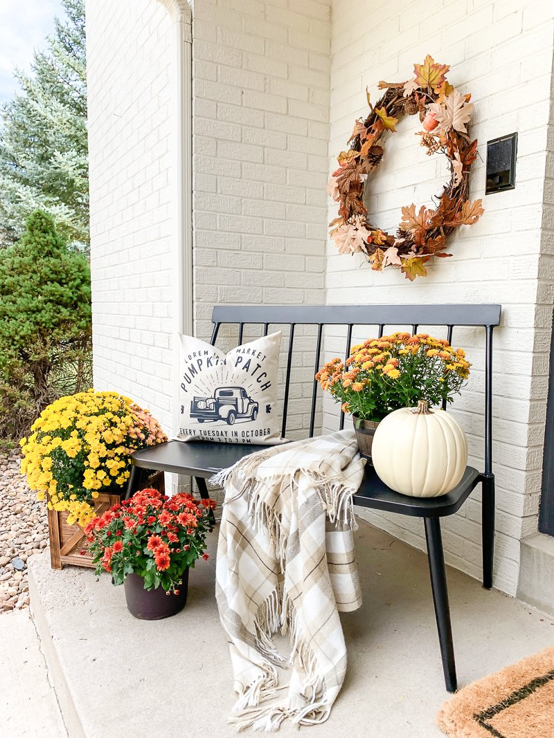 Simple Fall Porch Decor Fall Guidebook