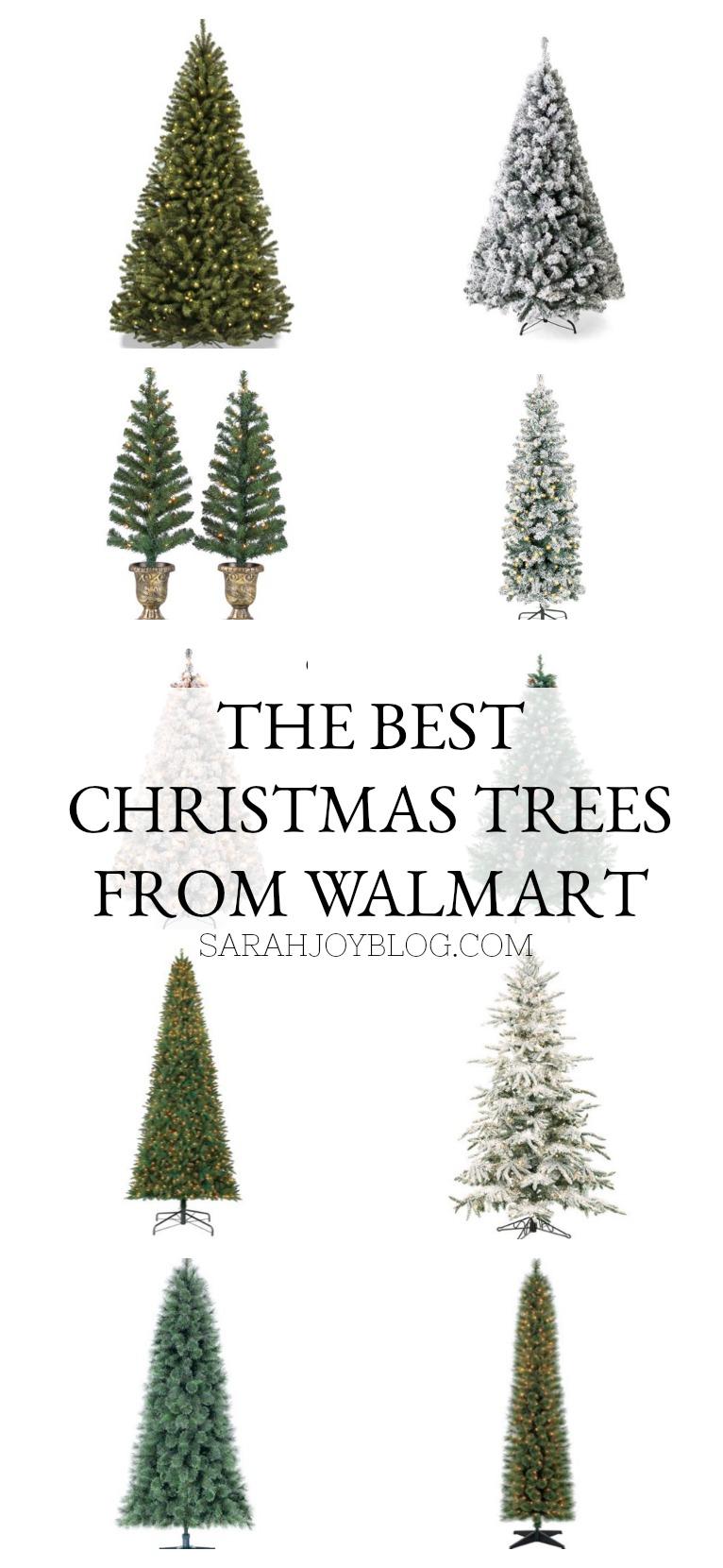 Farmhouse Style Christmas Decor from Walmart. The top rated Christmas trees from Walmart.