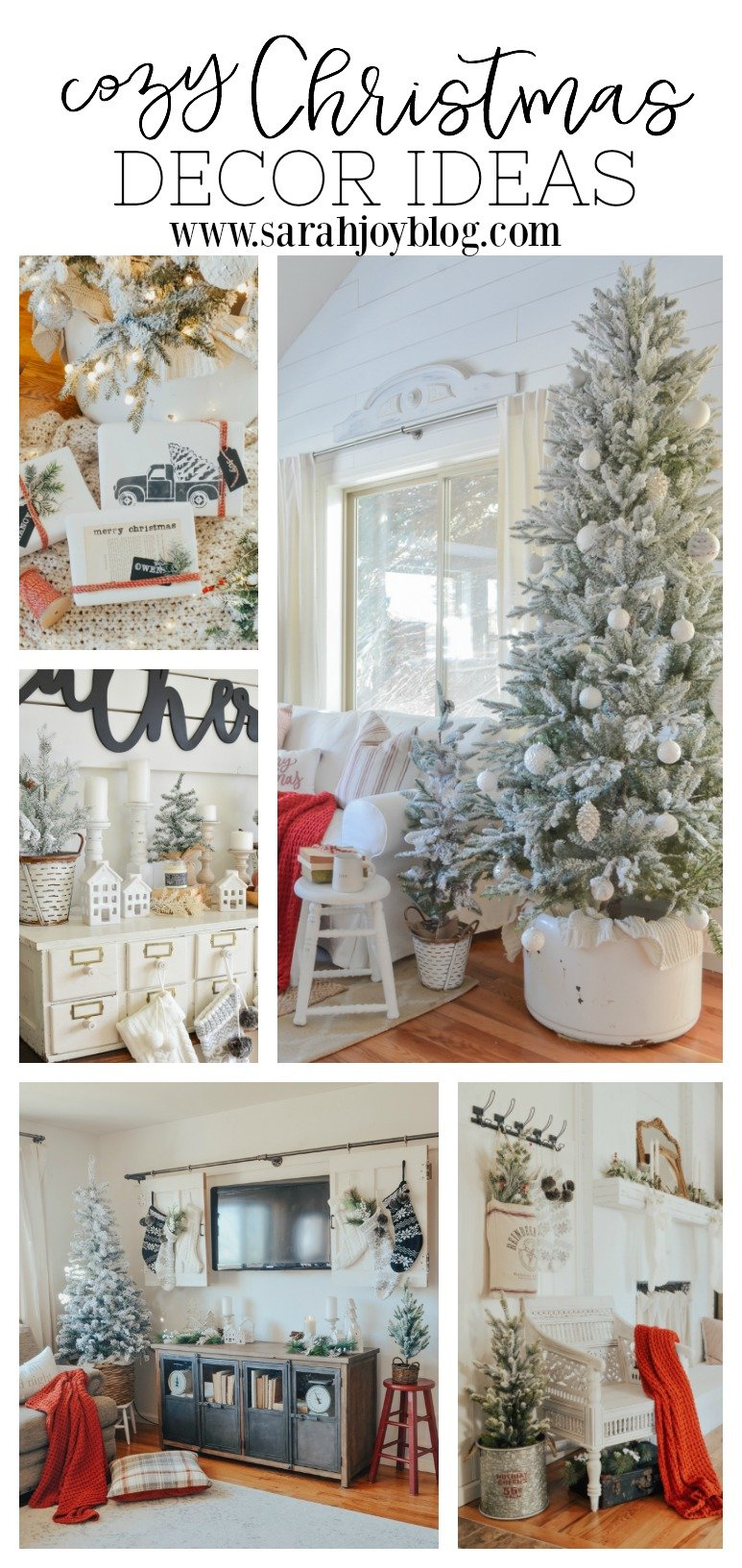 Cozy Christmas Decor Ideas for every room in your home.
