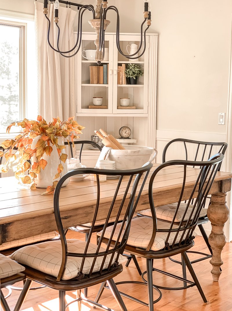 Super New Dining Room Look Sarah Joy Blog Gmtry Best Dining Table And Chair Ideas Images Gmtryco