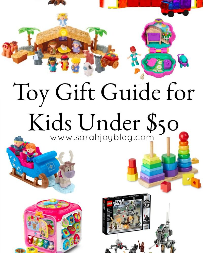 Toy Gift Guide for Kids Under $50