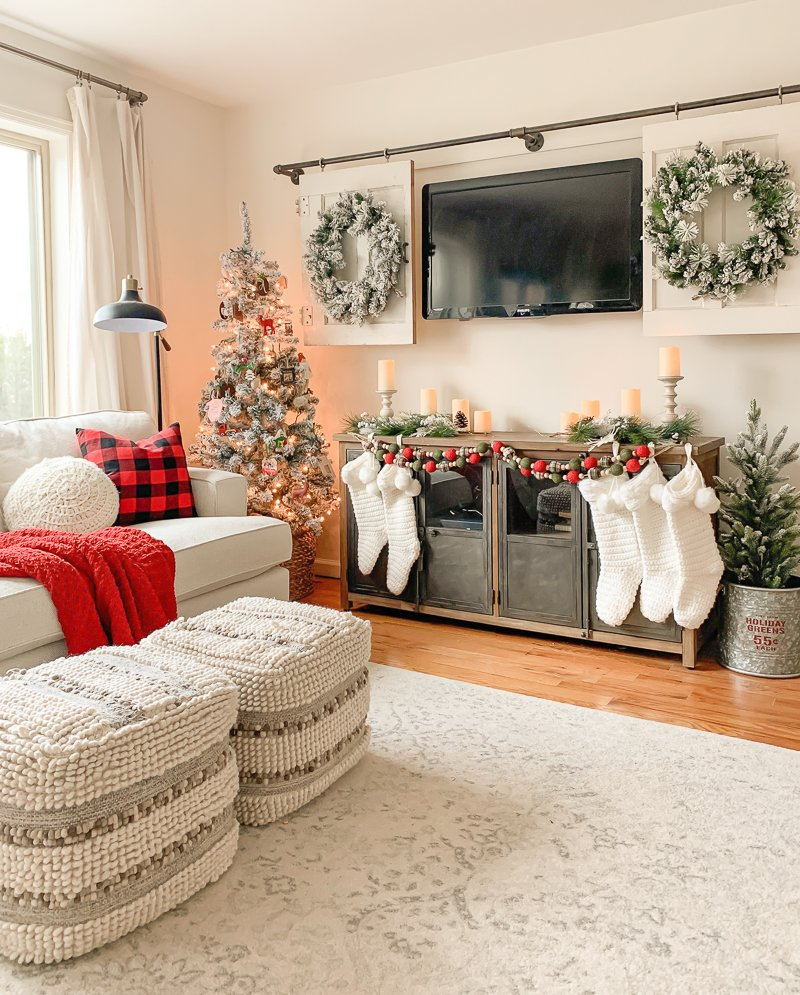 Our Cozy Christmas Living Room