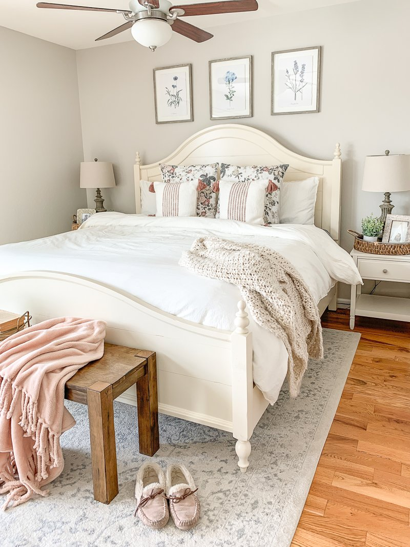 Master Bedroom Makeover + New Bed!
