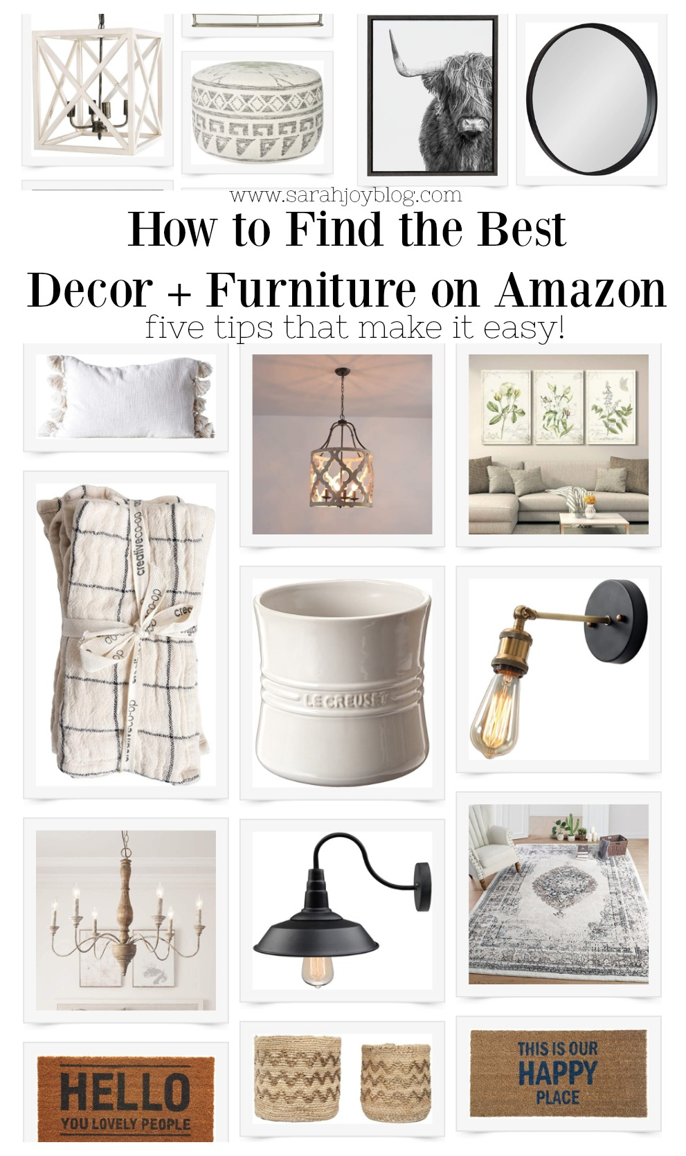 How to Find the Best Decor and Furniture on Amazon