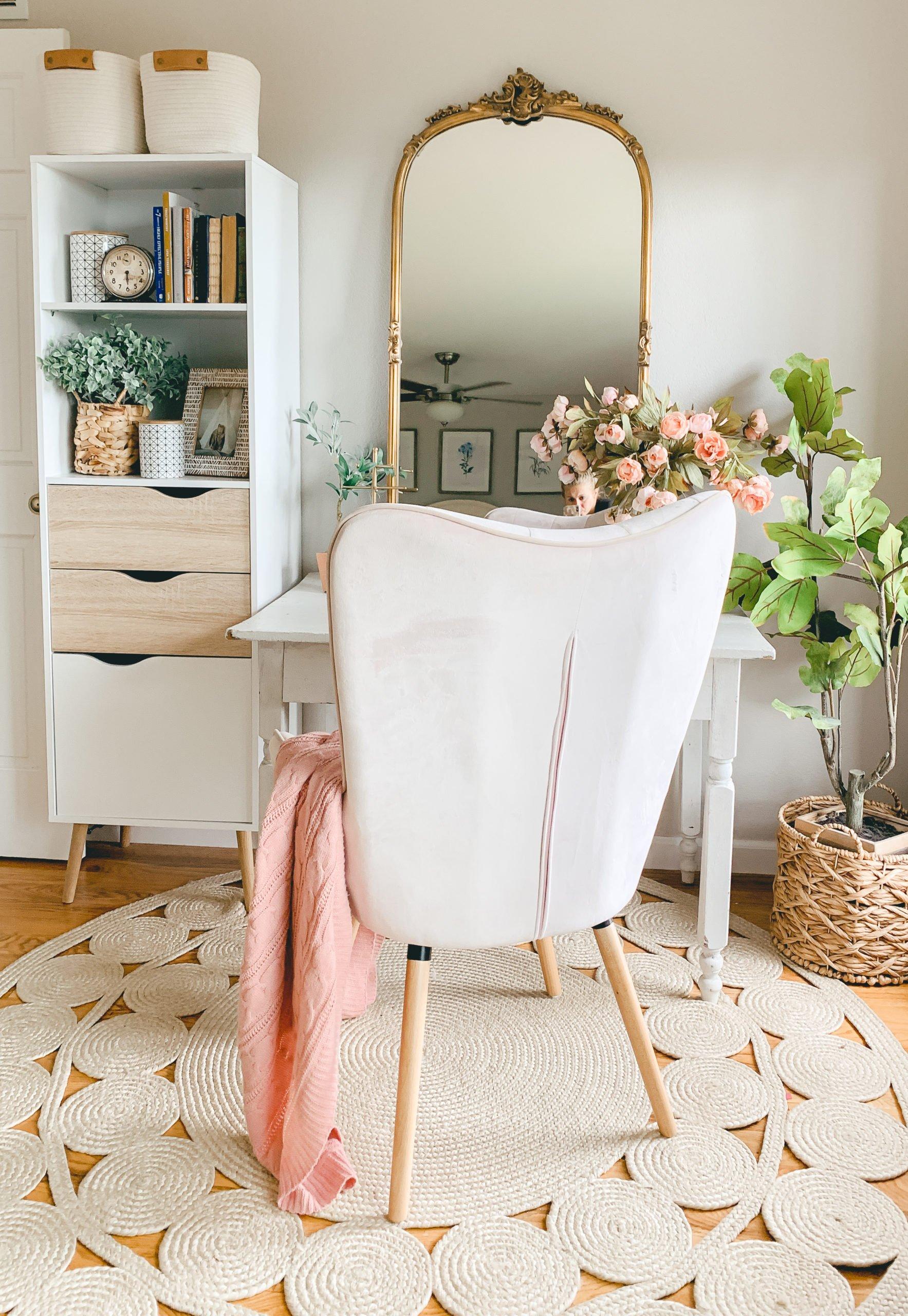 Favorite Space Boho Style Vanity Desk