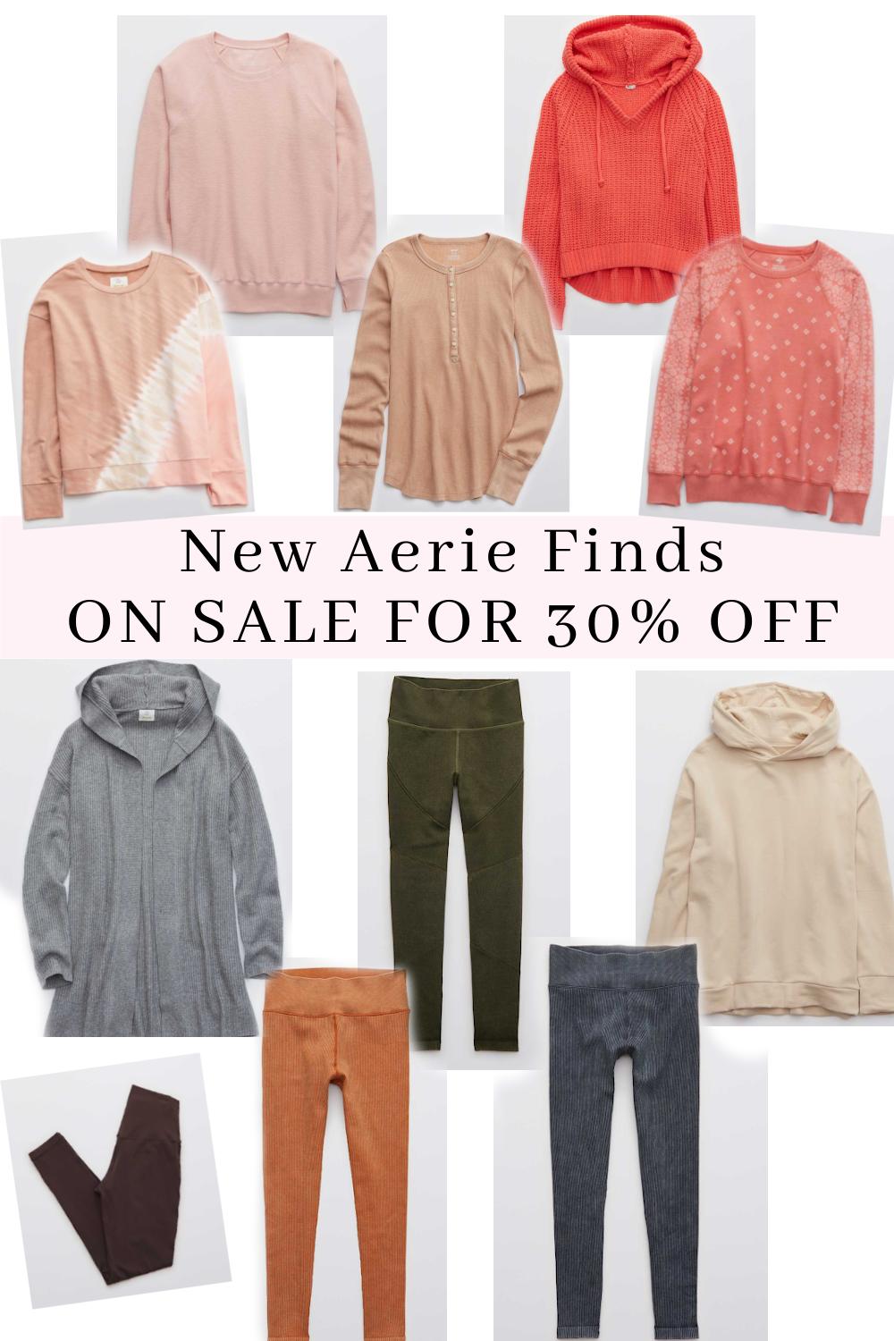AERIE FINDS